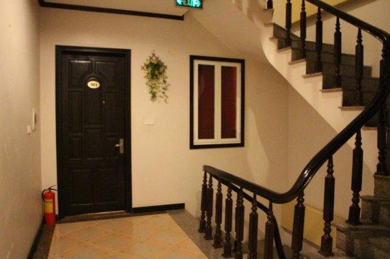 Aquarius Legend Hotel: Corridor