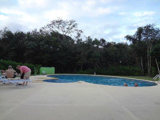Chicanna Ecovillage Resort: Piscine