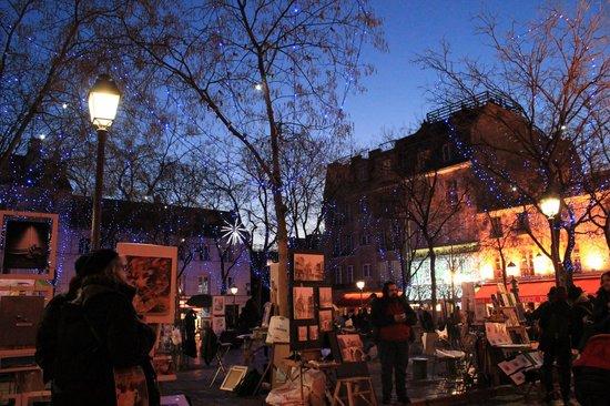 Place du Tertre : Montmatre