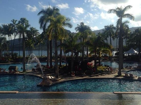 Kaua'i Marriott Resort : Beautiful Pool