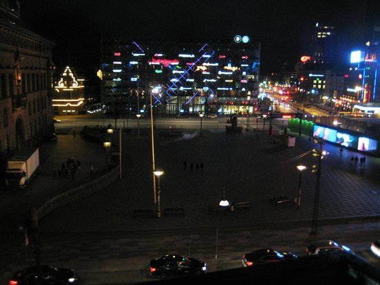 Scandic Palace Hotel : вид из окна