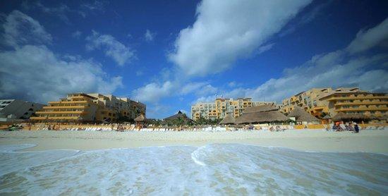 Fiesta Americana Condesa Cancun All Inclusive: Resort from the back