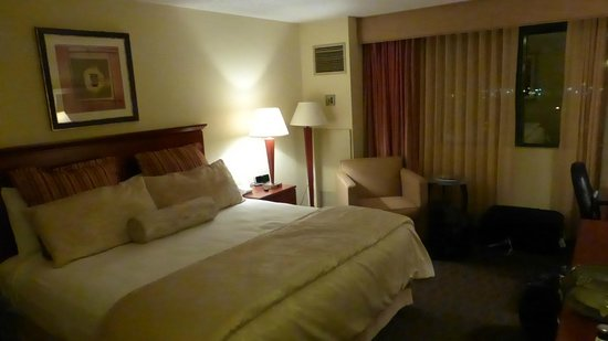 Holiday Inn Tampa Westshore: King room 1031, located at corner end.