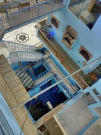 Hotel Blue House : Courtyard