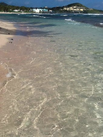 The Palms at Pelican Cove : beach water right out front