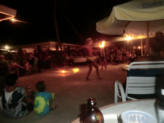 The Palms at Pelican Cove : Gypsy Dancers after dinner show