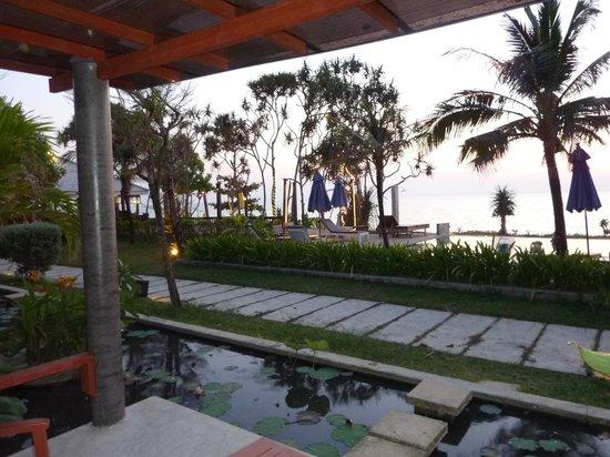 Anda Lay Boutique Resort: Vue somptueuse de la terrasse