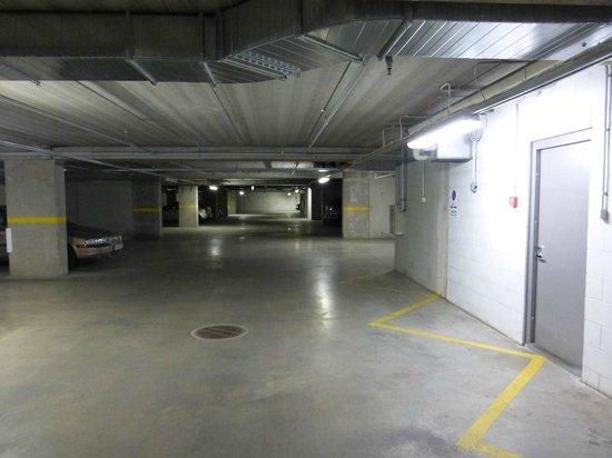 City Style Apartments: Designated Parking in Underground Garage