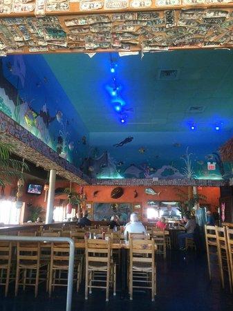 Gulf Island Grill Beach Bar Themed Decor