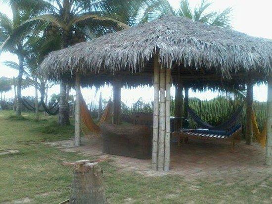 Hosteria La Gondola: zona de relax frente a la habitación