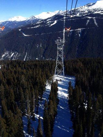 Peak 2 Peak Gondola: Travessia inesquecível!!!