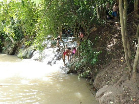 Namtok Ron (Hot Spring Waterfall ) - Khlong Thom : Hot Spring Waterfall