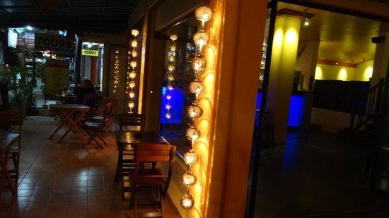 The Lounge: la terrasse