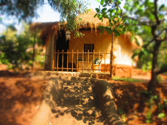 Banyan Tree Yoga Goa: Entrance of room