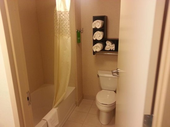 Hampton Inn & Suites Gainesville-Downtown: Bathroom - King Suite