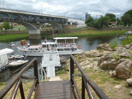 puerto bajo el puente en carlos paz picture of