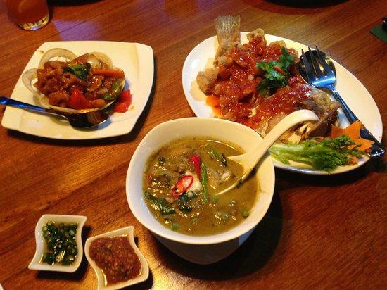 Amarin Heavenly Thai: Food