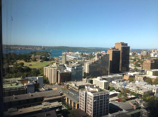 Pullman Sydney Hyde Park: view from the room