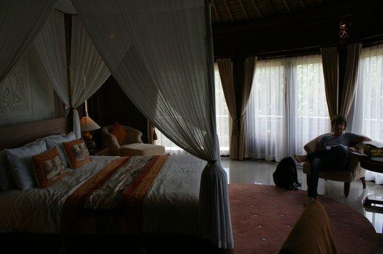 Taman Wana Villas and Spa : interior room