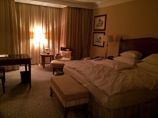 The Ritz-Carlton, Berlin : Подготовка к отдыху