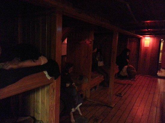 Museo de la hambruna Jeanie Johnston: Another Shot Under the Cabin