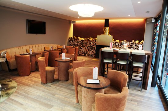 Kalkans Restaurant and Lounge: Lounge mit Kamin