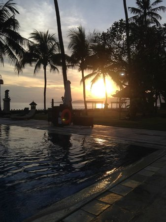 Rama Candidasa Resort & Spa : SUNSET