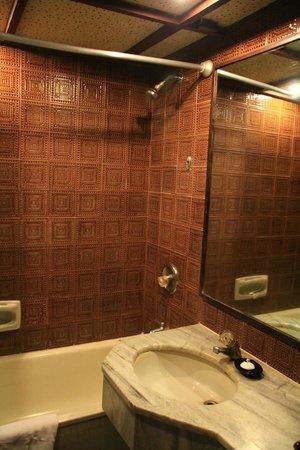 The Everest Hotel : 風呂はきれいですが、水質がひどすぎ。