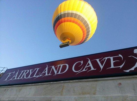 Fairyland Cave Hotel: Balon