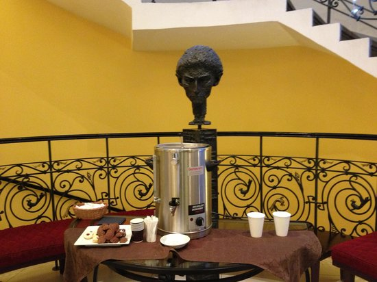 Hotel Century Old Town Prague - MGallery Collection: тот самый глинтвейн в холле