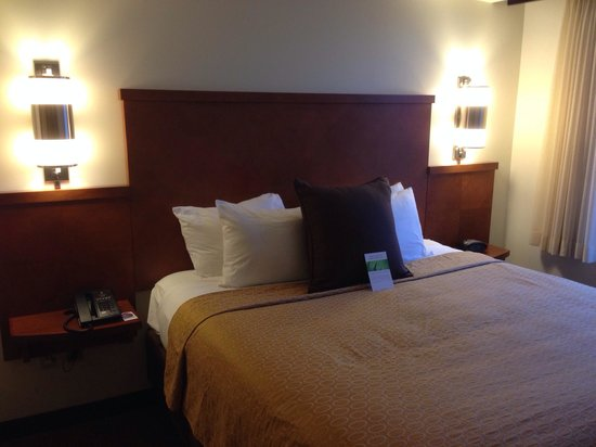 Hyatt Place Seattle/Downtown : Room king bed