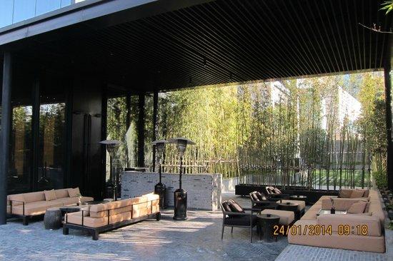The PuLi Hotel and Spa : backyard