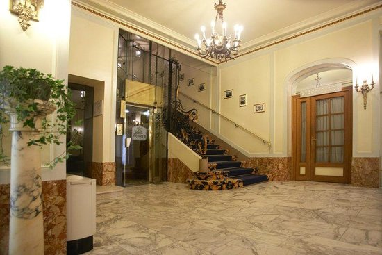 Grand Hôtel Bellevue : Hall