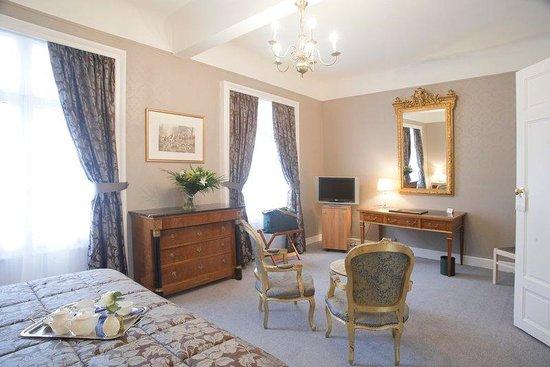 Grand Hôtel Bellevue : Deluxe king sizebedroom