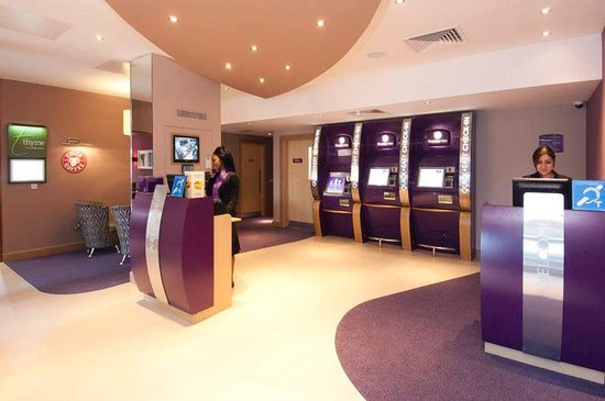Premier Inn London Greenwich Hotel: Reception