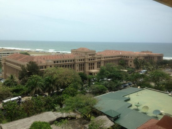 Hilton Colombo: View from the room