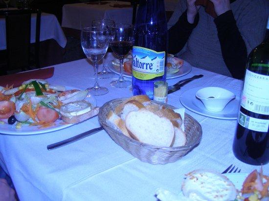 El Greco : salade de chvre chaud