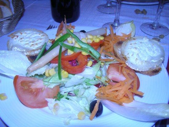 El Greco : salade de chevre chaud