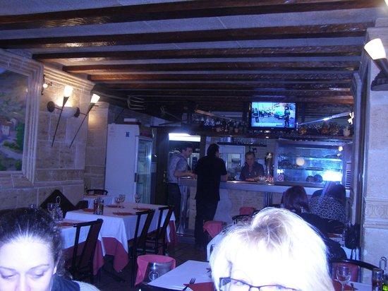 El Greco : la salle de restaurant