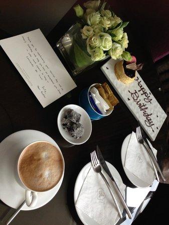The St. Regis Bangkok: Birthday Coffee Service