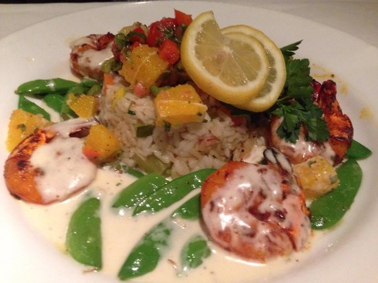 Tarpy's Roadhouse : GRILLED TIGER SHRIMP