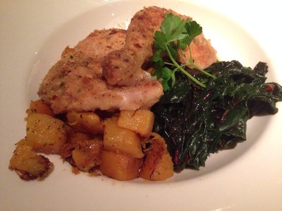 Tarpy's Roadhouse : MARY'S ASIAGO HALF CHICKEN
