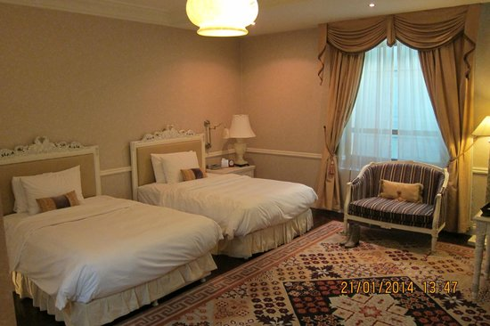 Beijing Hotel NUO : twin bed