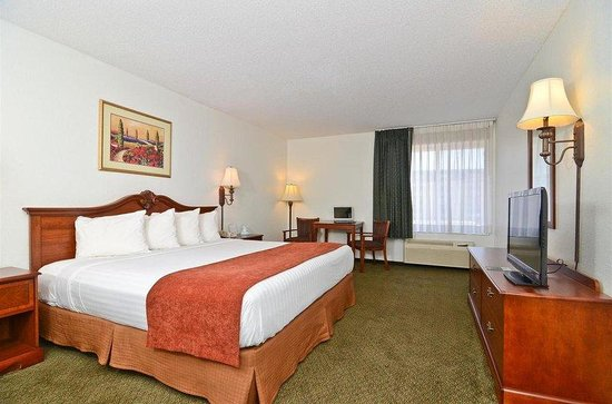 Americas Best Value Inn / Camelot Inn of Fairview Heights: Guest Room