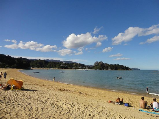view from little kaiteriteri beach