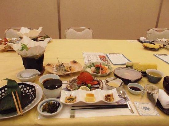 Seaside Hotel Yakushima: 2日目の食事
