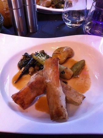 Les Forges: Ris de veau sauce Yuzu! Extra!