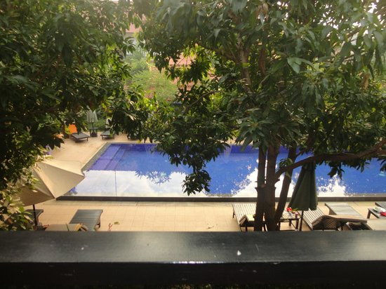 Central Boutique Angkor Hotel : Second pool in standard area