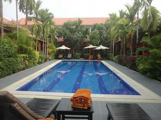 Central Boutique Angkor Hotel : the pool