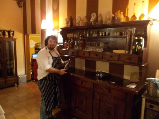 Il Conte del Pesin: Camillo con grappa super